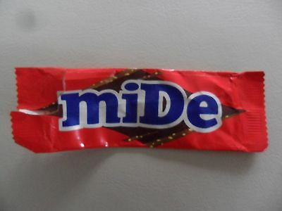 RARE Misprinted 1990s Dime Bar Wrapper Sweet Candy MIDE