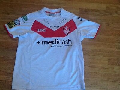 St Helen Isc Rugby Shirt New Size L