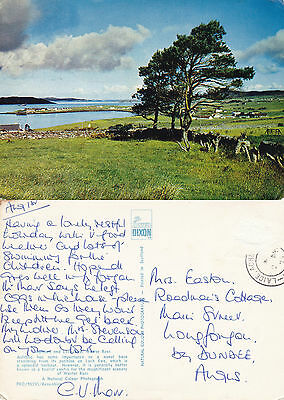 1973 Aultbea & Loch Ewe Wester Ross Scotland Colour Postcard