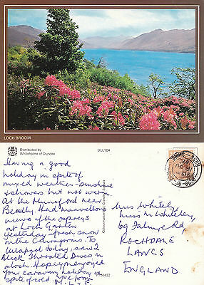 1987 Loch Broom Ross & Cromarty Scotland Colour Postcard