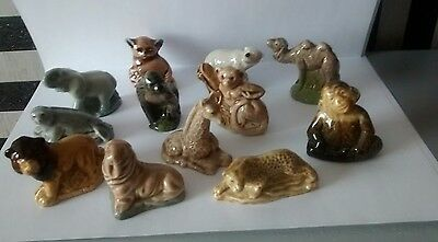 set of  12 wade whimsies