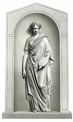 """""""The Muse of Painting"""" Engraved by R. Artlett from the Statue by James Ward, RA"""