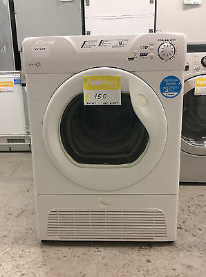 Candy GCC581NB Grand'O 8Kg Condenser Tumble Dryer White UK DELIVERY #331707