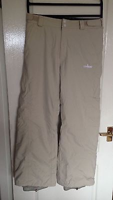 Womens No Fear Salopettes Ski Trousers Pants - New Without Tags - Size M