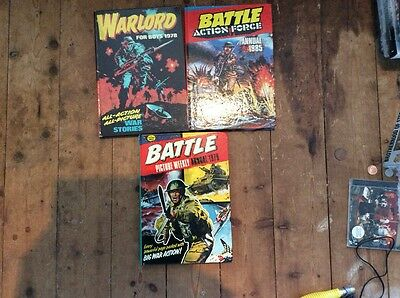 Battle/ warlord Annuals