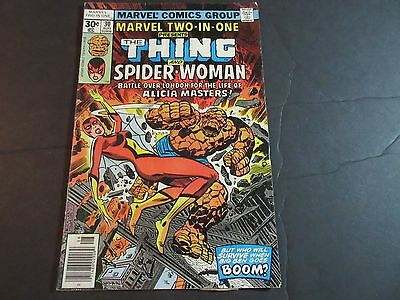 Marvel Two-In-One #30 (Aug 1977, Marvel) Spider-Woman!