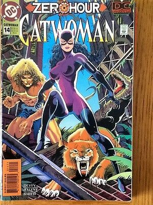 Catwoman (Zero Hour) issue 14 (VF) from September 1994 - postage discounts apply