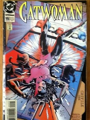 Catwoman issue 15 (VF) from November 1994 - postage discounts apply