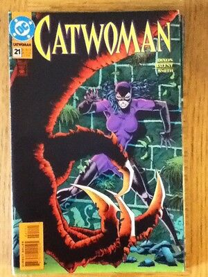 Catwoman issue 21 (VF) from June 1995 - postage discounts apply