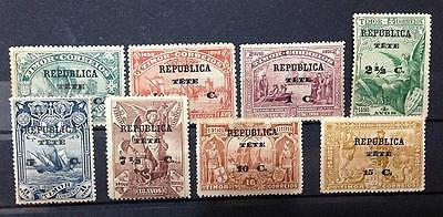 Portugal.tete.1913. India Discovery. Timor Overprinted Mint Complete Set.