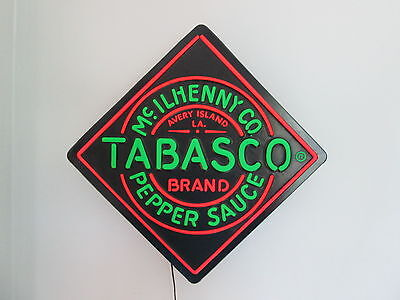 Tabasco McIlhenny Display Light Fluorescent Appearance Louisiana Peppers