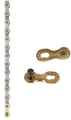 "SRAM PC-971 Power Chain II Bike Chain Loose 9 Speed 114 Link 1/2"" x 11/128"""