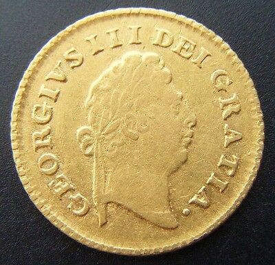 1798 George III Great Britain Gold Third Guinea Coin