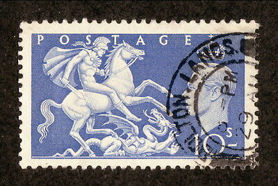 Great Britain--#288 Used--St George Slaying the Dragon--1951