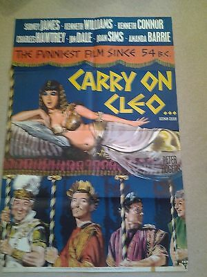 Carry On Cleo Original UK One Sheet Poster