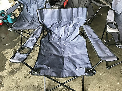 Fold Out Camping Chairs x 4