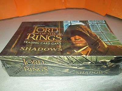 Decipher Lord of the Rings Shadows TCG SEALED 36 Booster Pack Display Box