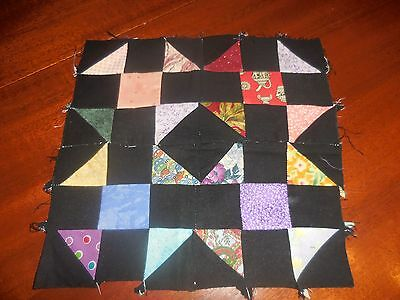Pattern quilt block - Amish Shoo Fly