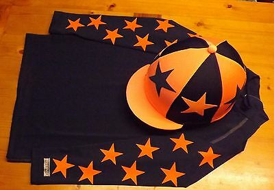 Breatheable XC Cross Country Colours Baselayer S/M Navy + orange stars