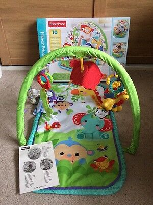 Fisher-price 3-in-1 Musical Activity Take Along Gym Helps Baby Development