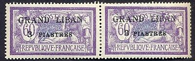 (JA096) Grand Liban MLH stamps Maury#2a pair