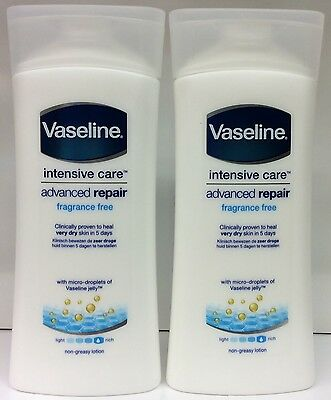 2X Vaseline Intensive Care Advanced Repair Lotion 200ml