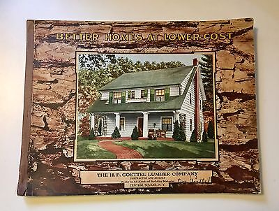 VINTAGE 1928 HOUSE PLANS STANDARD HOMES CO. 80 pgs NY