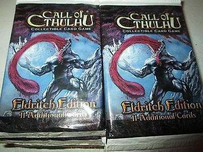 Call of Cthulhu Eldritch Edition TCG Lot of 16 Sealed Packs