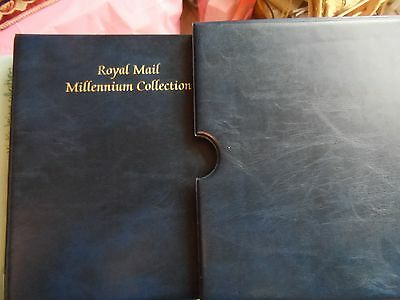 GB royal mail fdc album with 24 fdc's