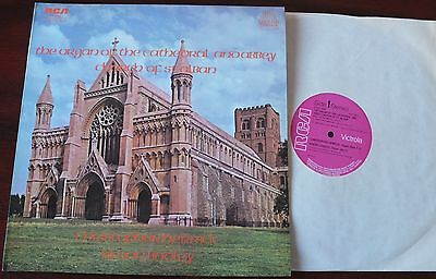 Wesley The Organ Of St Alban Lp Herrick/lindley Rca Vics 1662 Nm (1972) England