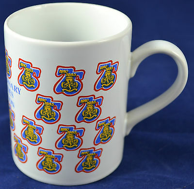 75th Anniversary Girl Guides vintage Mug 1910 to 1985