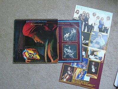 1979 Uk Jet Lp + Poster Electric Light Orchestra Discovery