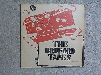 1979 Canadian Lp The Bill Bruford Tapes Ex Yes + King Crimson Prog Rock
