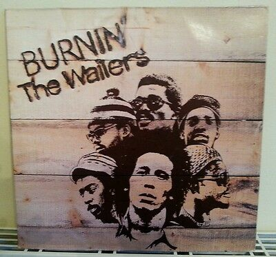 The Wallers  - Burnin  - VINYL- LP -  Bob Marley .Island. 1973