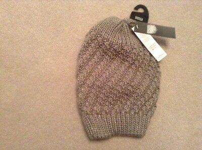 BNWT Ladies Beanie Hat From M&S RRP £12.50