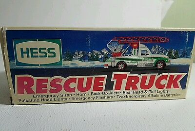 New Vintage 1994 Hess Rescue Truck
