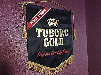 World Famous Tuborg Gold Export Quality Beer Banner Carling National Breweries