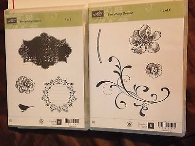 Stampin Up Everything Eleanor Stamp Set. New.