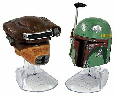 STAR WARS BLACK Series Titanium PRINCESS LEIA & BOBA FETT Helmet TAKARA TOMY NEW