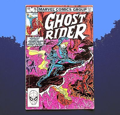 Ghost Rider  Vol.1 No.76 January 1983 Marvel Comics