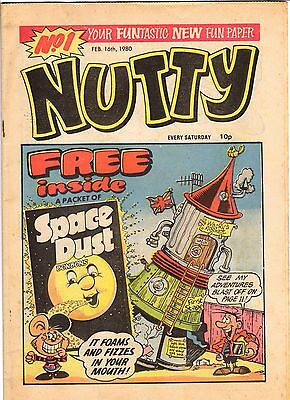 Nutty Issues No.1 to 3 UK COMICS  Great Condition