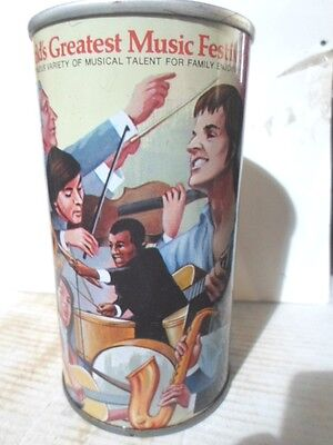 Graf`s Root Beer Summerfest 77 Straight Sided Steel Soda Can / Pop Can