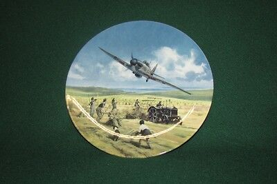 Hurricane Victory Pass Royal Doulton Limited Edition Plate.