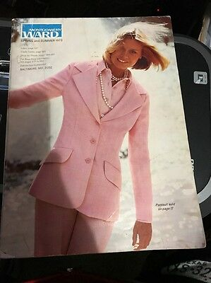 Vintage Montgomery Ward Catalog Spring and Summer 1973