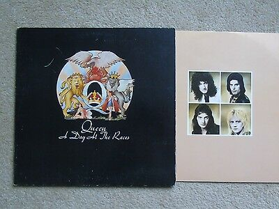 1976 Canadian Elektra Lp Queen A Day At The Races Rock