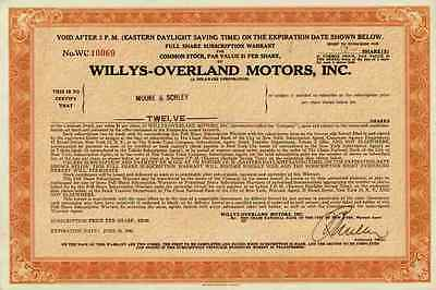 Willys Overland Motors 1946 Indianapolis Indiana Kaiser Jeep Patriot Chrysler 12