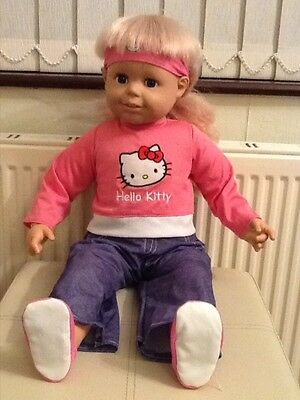 Smoby Toddler Doll in Hello Kitty Outfit