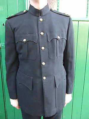 Original British Army Royal Engineers Army Officers No1 Dress Blues Patrol tunic