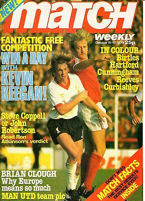Match Weekly Issues 1 - 7 UK Mags 1979 Great Condition