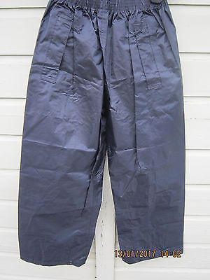 Child's Regatta waterproof trousers 7 - 8 years